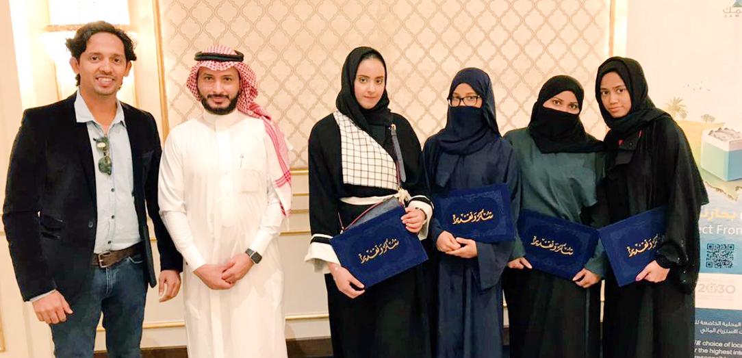 الجمعية السعودية للاستزراع المائي تستقطب عدد من الفتيات السعوديات الحاملات للشهادات العليا للعمل في برنامج الاصول الوراثية في تجربة هي الاولى على مستوى المملكة في قطاع الاستزراع المائي