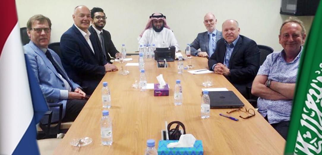 اجتماع يبحث سبل التعاون المشترك ما بين المملكة العربية السعودية ومملكة هولندا حول تطوير ونقل تقنيات إنتاج وتصنيع الأعشاب البحرية Seaweed