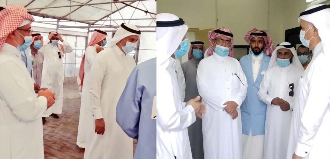 زيارة معالي وزير البيئة والمياه والزراعة المهندس عبدالرحمن الفضلي للمركز الوطني للثروة السمكية