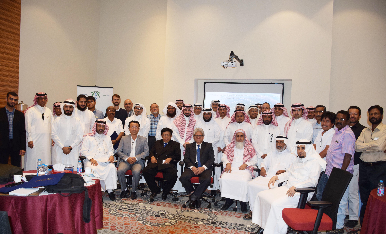 ورشة عمل التقنيات الحديثة في استزراع الروبيان المملكة العربية السعودية